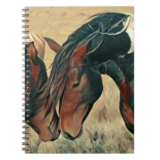 Paint Ponies Spiral Notebook
