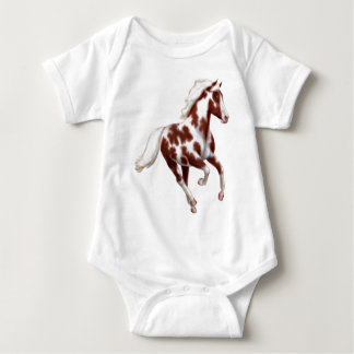 Paint Pony Galloping Infant One Piece Baby Bodysuit