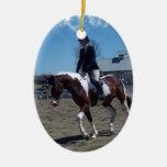 Paint Pony Horse Show Ornament