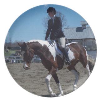 Paint Pony Horse Show Plate