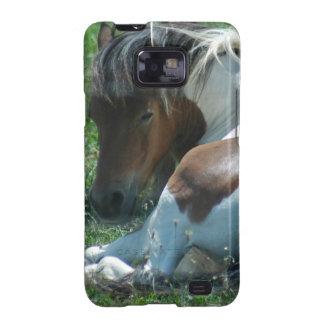 Paint Pony Resting Samsung Galaxy Case Galaxy SII Cases