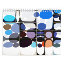 Paint Print Pattern Calendar