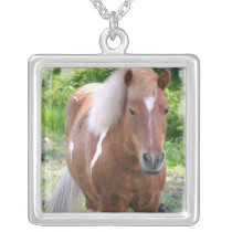 Paint Quarter Horse Necklace
