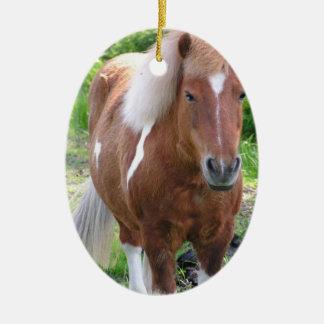 Paint Quarterhorse Ornament
