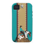 Paint Reining Horse iPhone 4 Case-Mate Case
