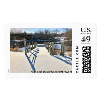Paint River Boardwalk Stamps