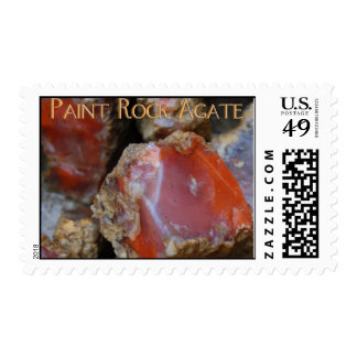 Paint Rock Agate Stamp