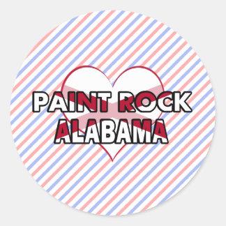 Paint Rock, Alabama Round Stickers