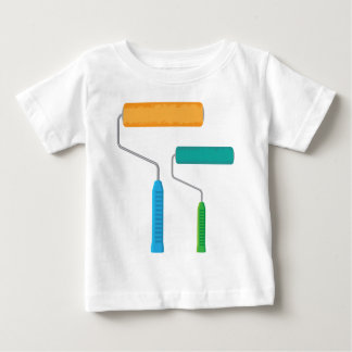 Paint Roller Baby T-Shirt