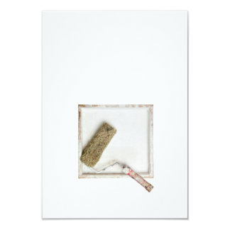 Paint roller in a box card
