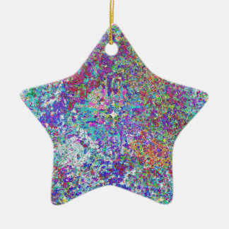 Paint Spatter Christmas Ornament