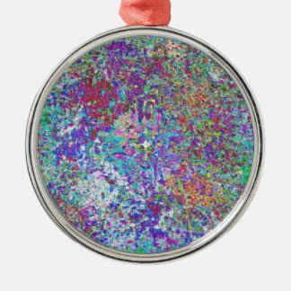 Paint Spatter Christmas Ornaments