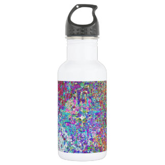 Paint Spatter Stainless Steel Water Bottle