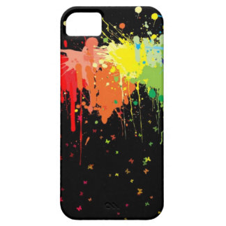 Paint Spattered iPhone SE/5/5s Case