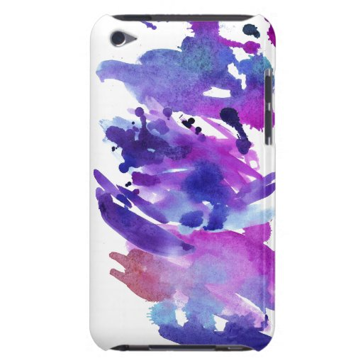 Paint Splash Barely There iPod Cases