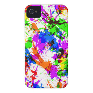 paint splash blackberry bold case