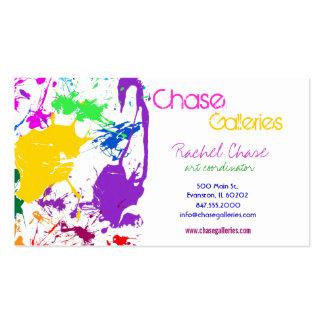 paint splash business card