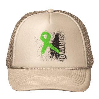 Paint Splash Design Non-Hodgkins Lymphoma Survivor Trucker Hat