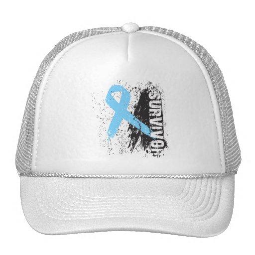 Paint Splash Design - Prostate Cancer Survivor Trucker Hat