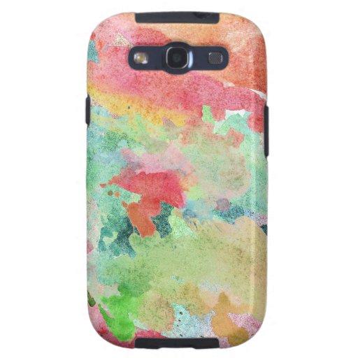 Paint Splash Galaxy S3 Cases
