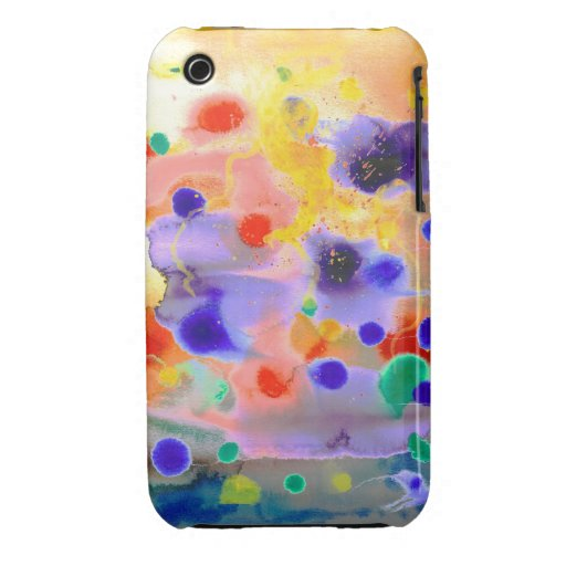 Paint Splash iPhone 3 Cases