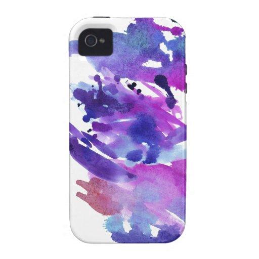 Paint Splash iPhone 4/4S Cases