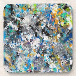 Paint Splashes Coaster