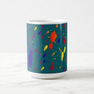 paint splashes Mug