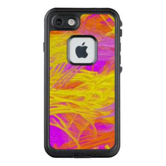 Paint splashes neon purple yellow orange LifeProof® FRĒ® iPhone 7 case