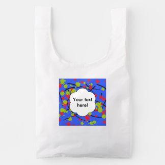 Paint splashes reusable bag