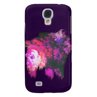 'Paint Splat Cutout' Samsung S4 Case