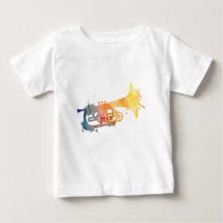 Paint Splat Mellophone Baby T-Shirt