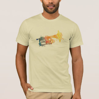 Paint Splat Mellophone T-Shirt