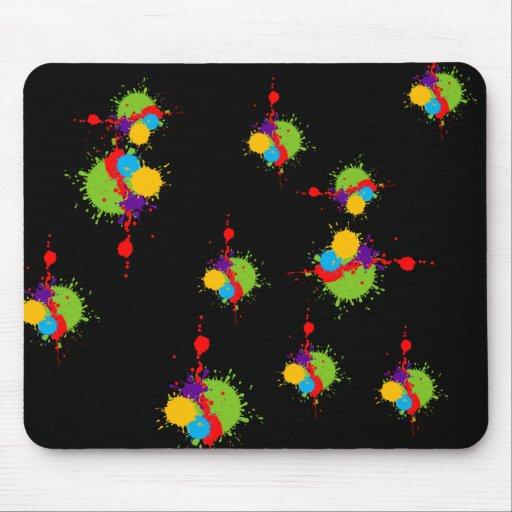Paint Splat Mousepad