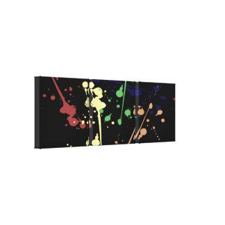 Paint Splat Wall Canvas Canvas Print