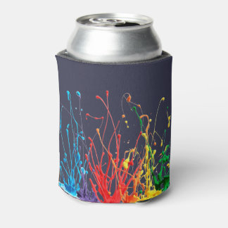 Paint Splatter 3D Can Cooler