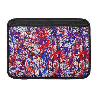 Paint Splatter Abstract Art MacBook Air Sleeves