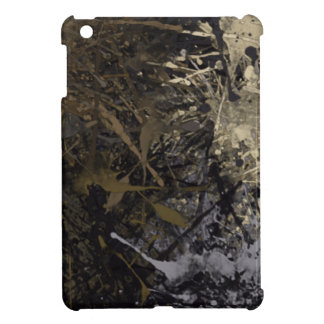 Paint Splatter Abstract iPad Mini Covers