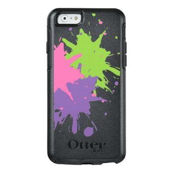 Paint Splatter Apple Iphone 6/6s Otterbox by InsideOut_by_Rebecca at Zazzle