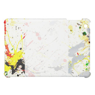 Paint Splatter Background (1) iPad Mini Cover