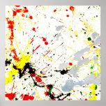 Paint Splatter Background (1) Print
