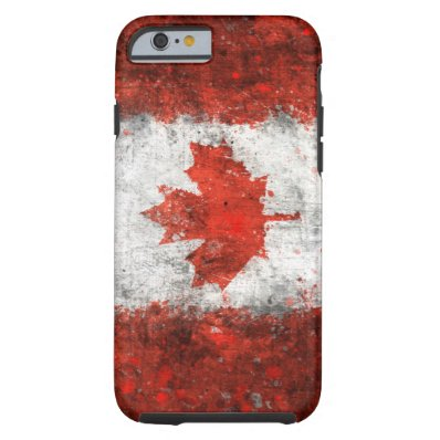 Paint Splatter Canadian Flag iPhone 6 Case