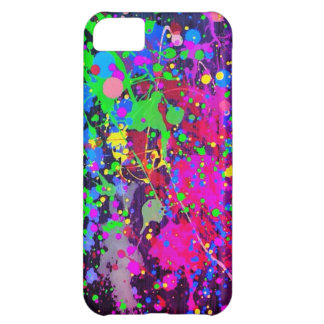 Paint Splatter Case For iPhone 5C