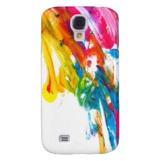 paint splatter color colors class brush stroke pap galaxy s4 case