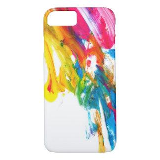 paint splatter color colors class brush stroke pap iPhone 8/7 case