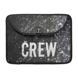 Paint Splatter CREW | Charcoal and White Sleeve For MacBook Pro