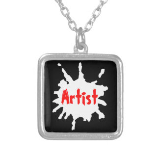 Paint Splatter Custom Jewelry