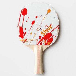 Paint Splatter Custom Ping Pong Paddle