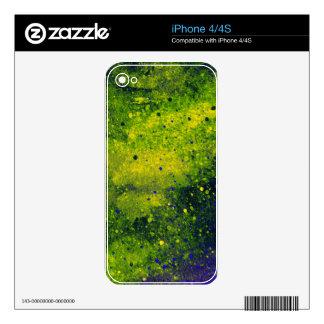 Paint Splatter Decals For iPhone 4S
