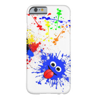 Paint Splatter Effect Barely There iPhone 6 Case